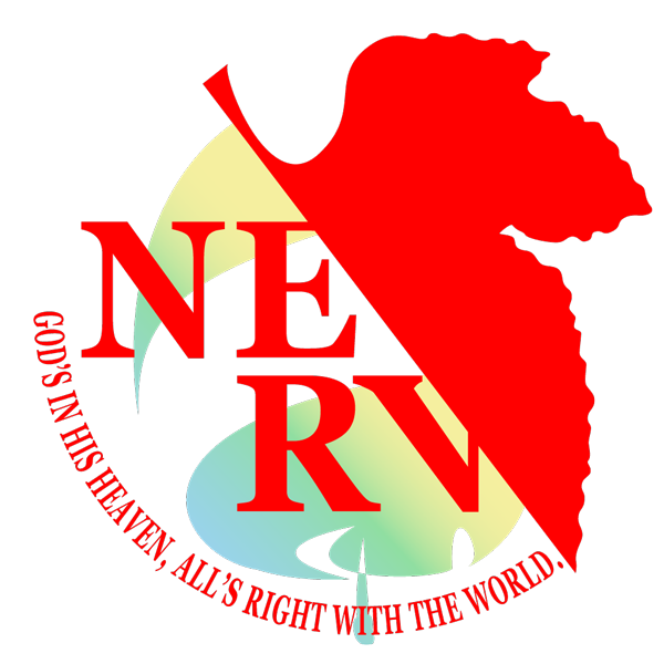 Old Vs New Nerv Logo In You Are Not Alone That There